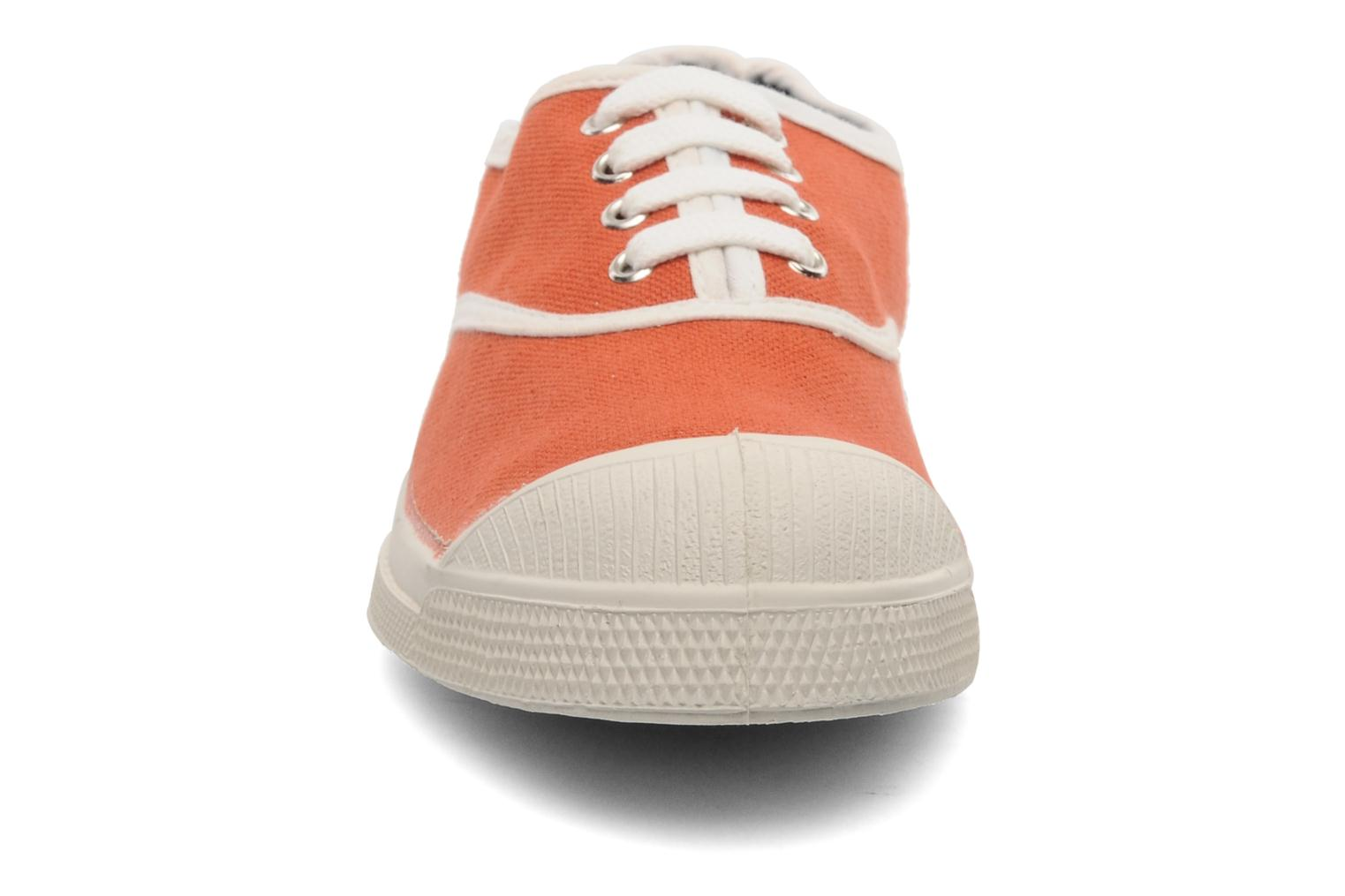 Trainers Bensimon Tennis Colorpiping E Orange model view