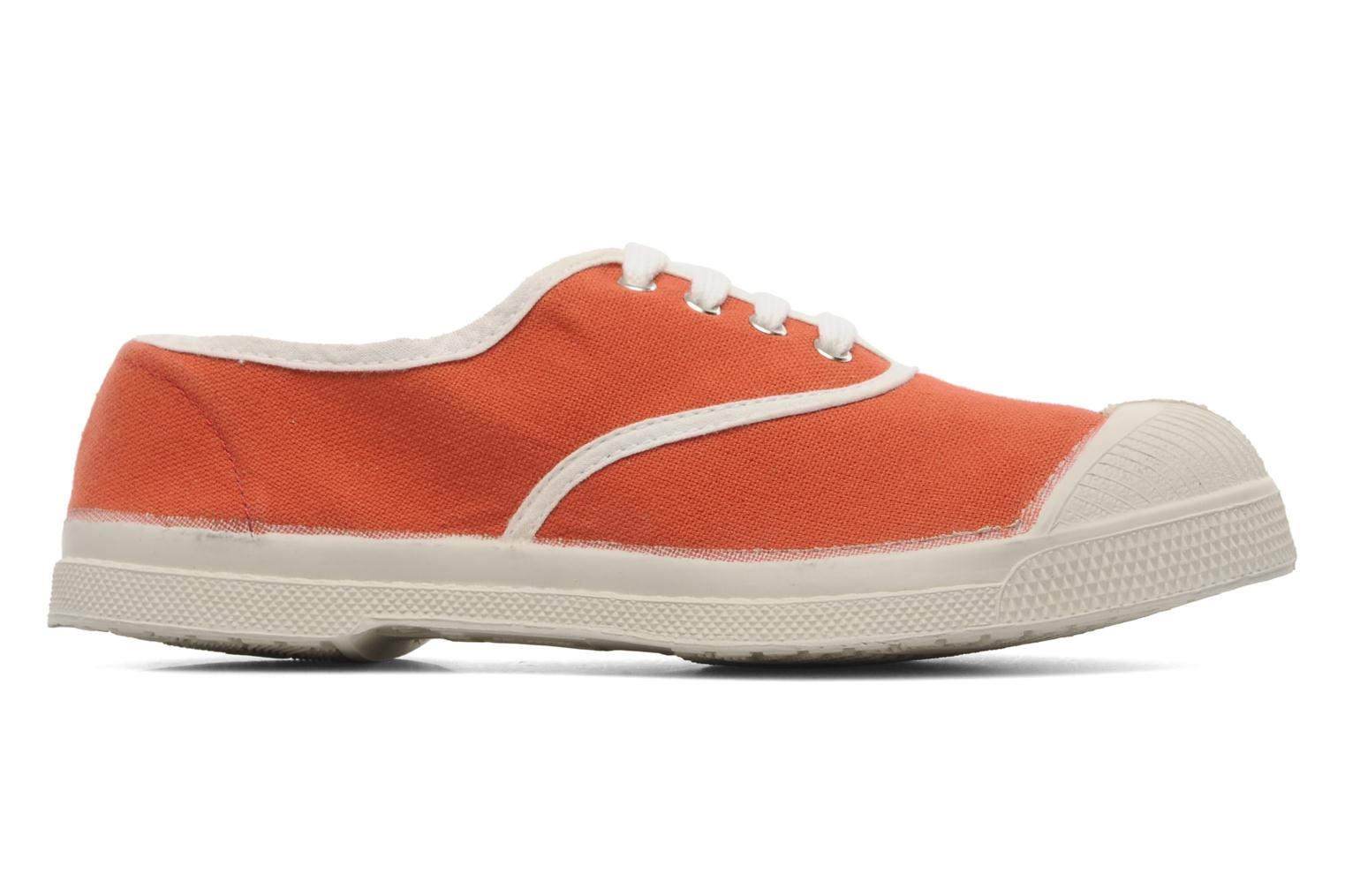 Trainers Bensimon Tennis Colorpiping E Orange back view