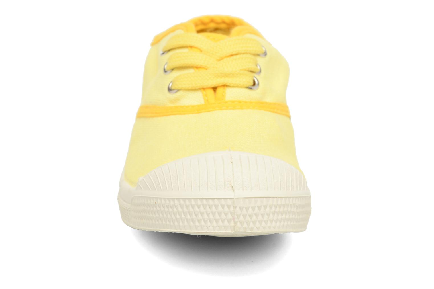 Trainers Bensimon Tennis Colorpiping E Yellow model view