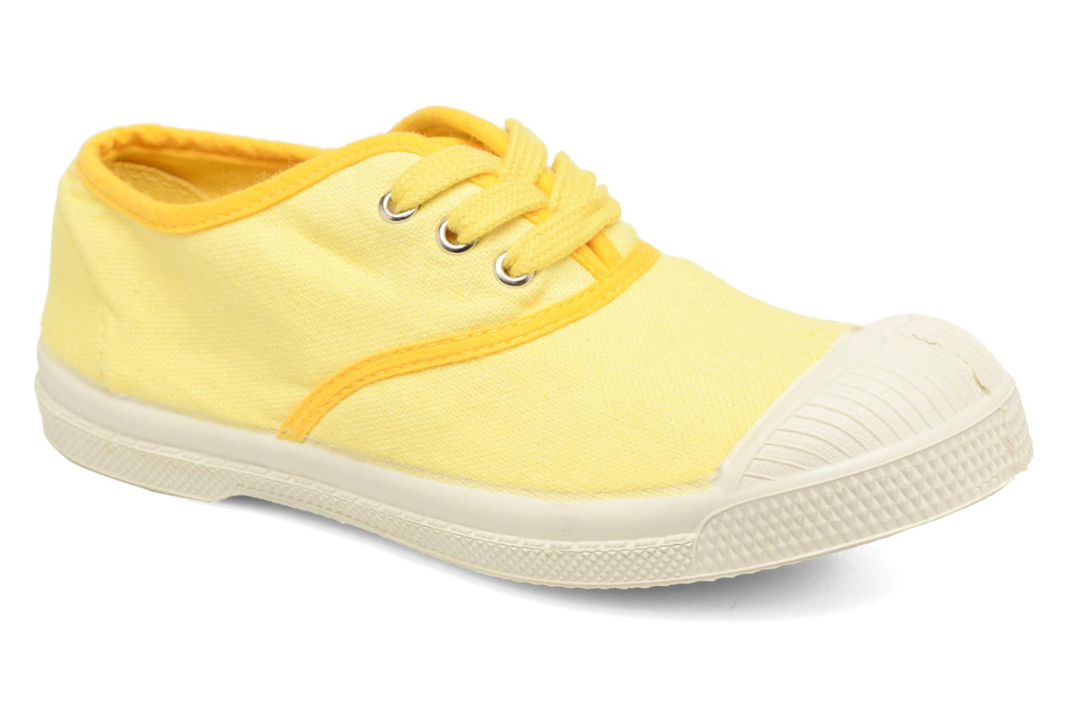 Trainers Bensimon Tennis Colorpiping E Yellow detailed view/ Pair view
