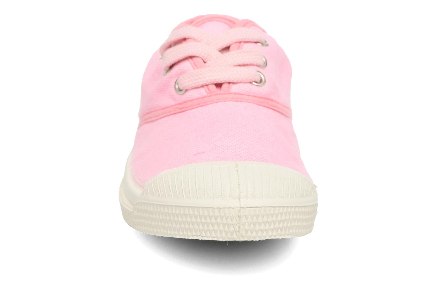 Trainers Bensimon Tennis Colorpiping E Pink model view
