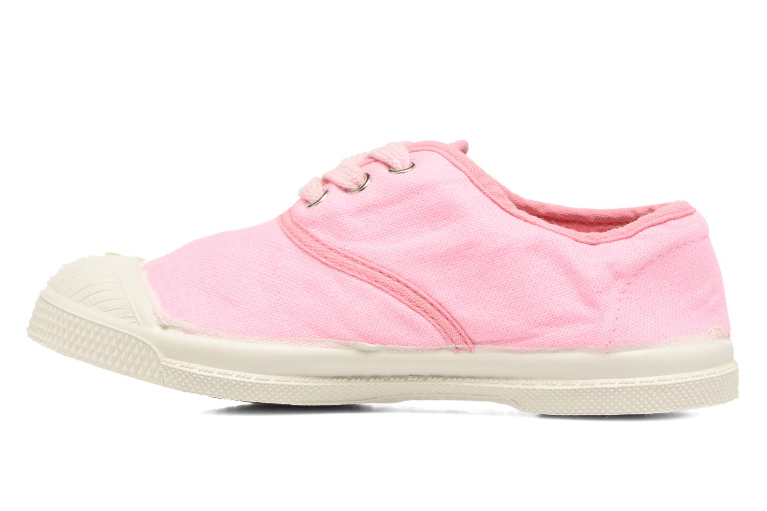 Trainers Bensimon Tennis Colorpiping E Pink front view