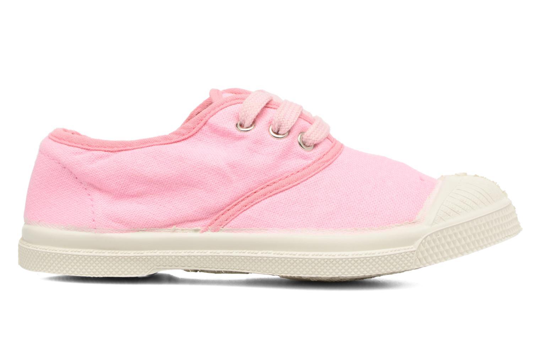 Sneaker Bensimon Tennis Colorpiping E rosa ansicht von hinten