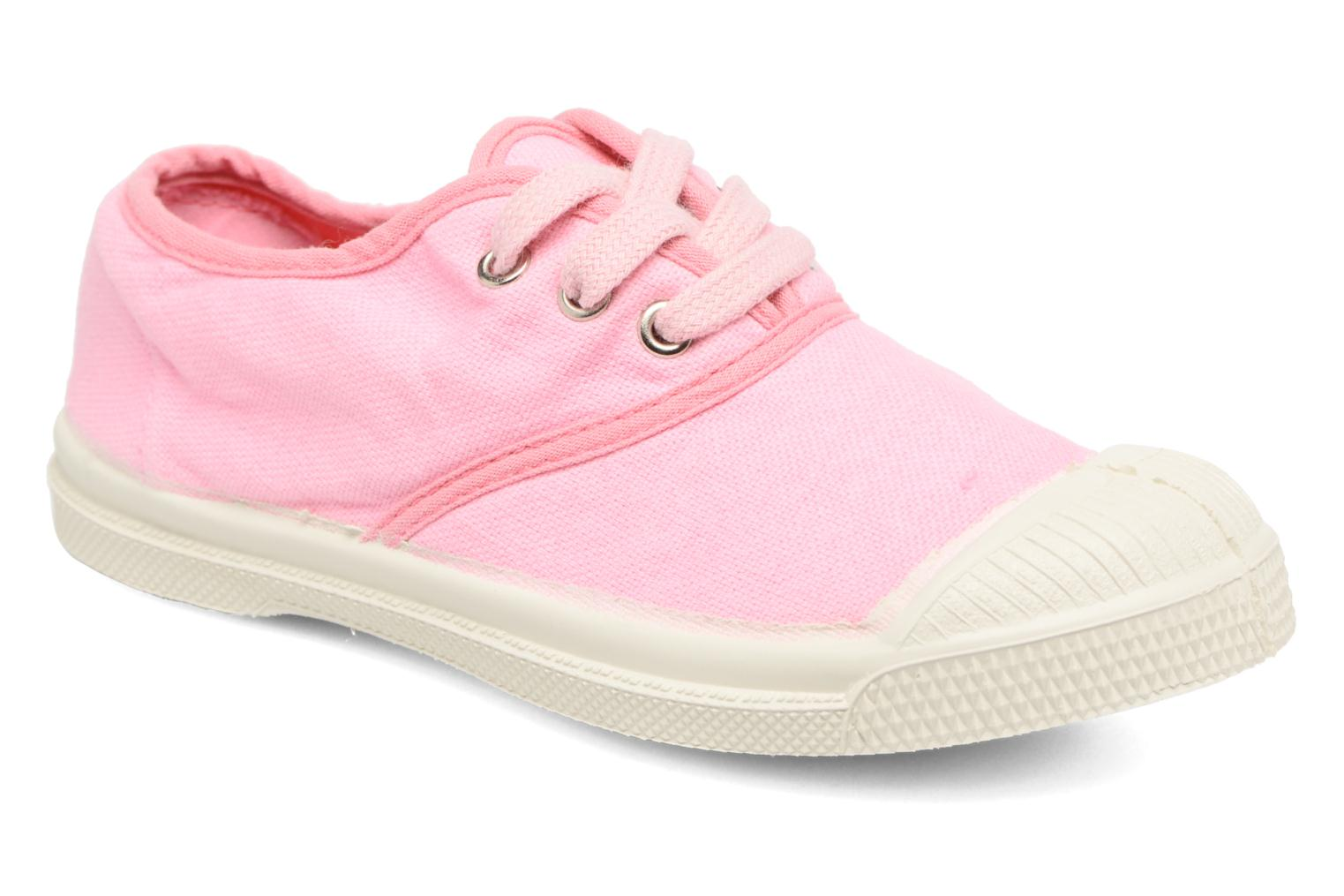 Trainers Bensimon Tennis Colorpiping E Pink detailed view/ Pair view