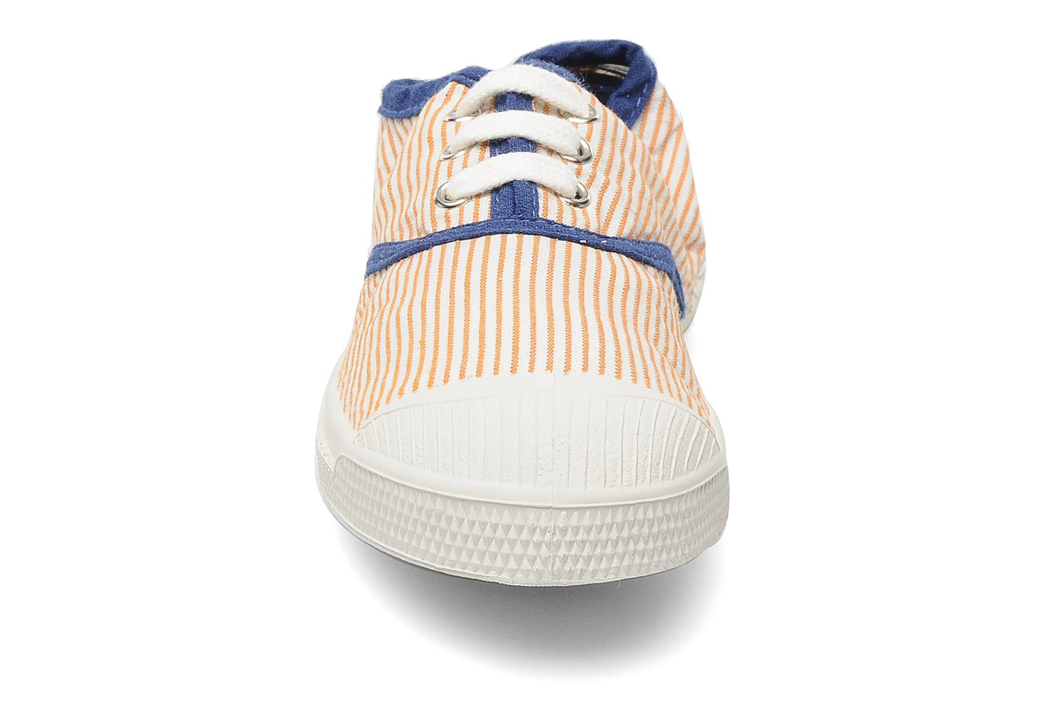 Sneakers Bensimon Tennis Rayures Souples E Orange bild av skorna på
