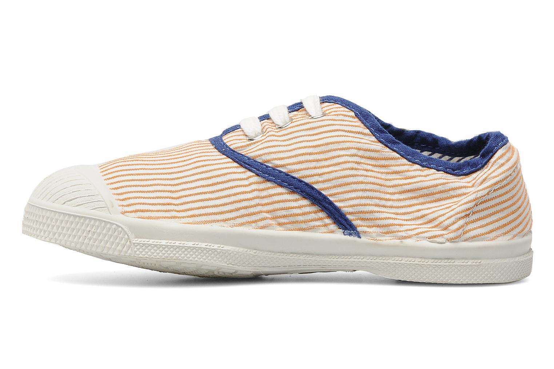 Sneakers Bensimon Tennis Rayures Souples E Oranje voorkant