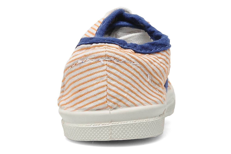 Sneakers Bensimon Tennis Rayures Souples E Oranje rechts