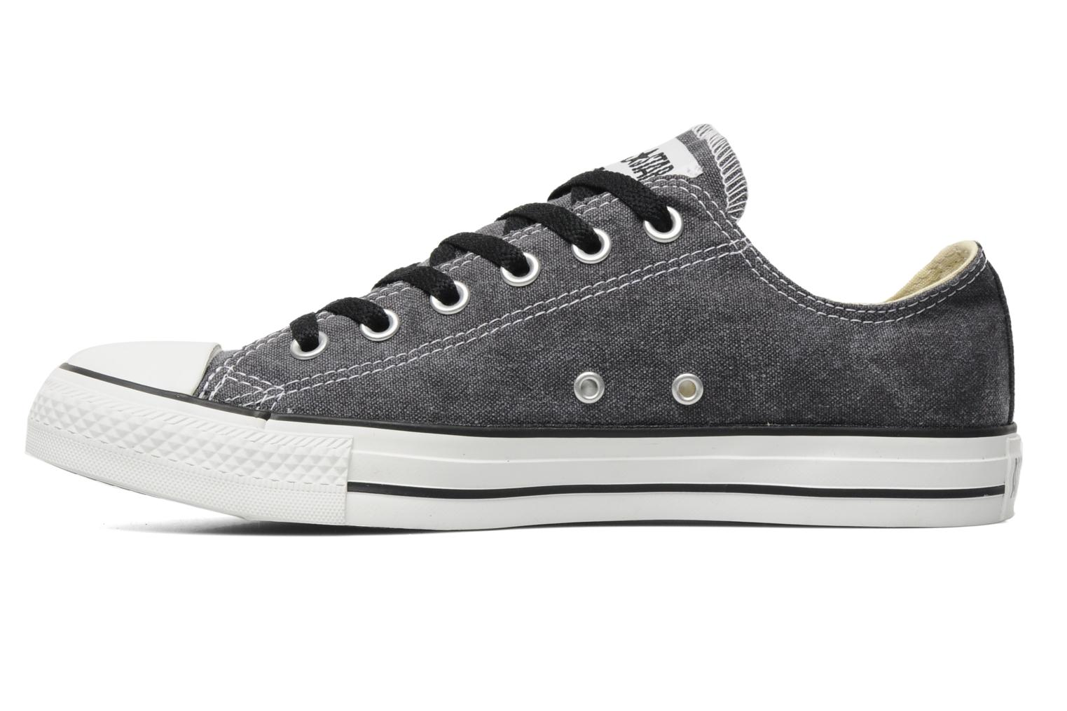 Sneakers Converse Chuck Taylor All Star Basic Washed Ox M Grijs voorkant