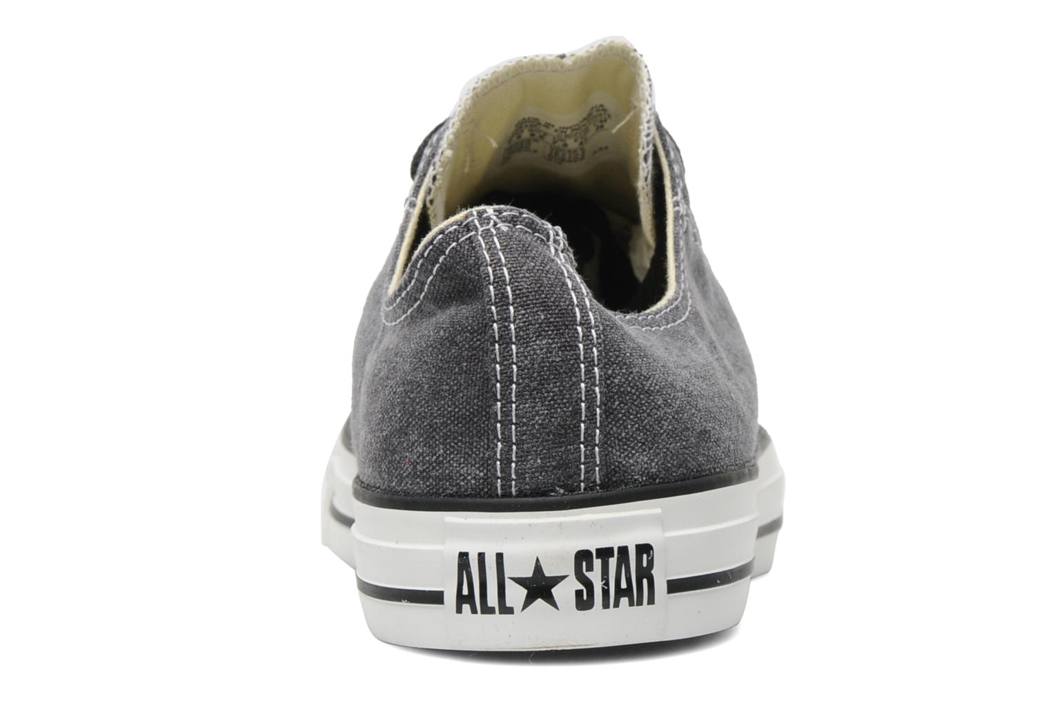 Sneakers Converse Chuck Taylor All Star Basic Washed Ox M Grijs rechts