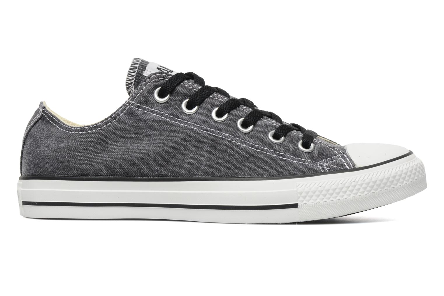 Sneakers Converse Chuck Taylor All Star Basic Washed Ox M Grijs achterkant