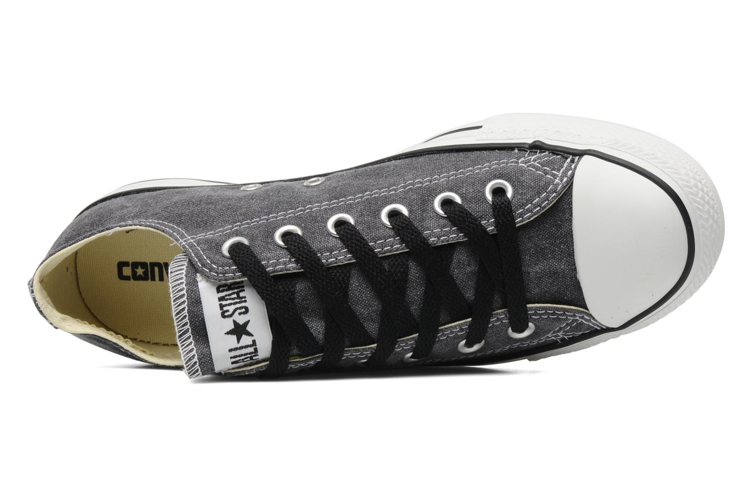 Sneakers Converse Chuck Taylor All Star Basic Washed Ox M Grijs links
