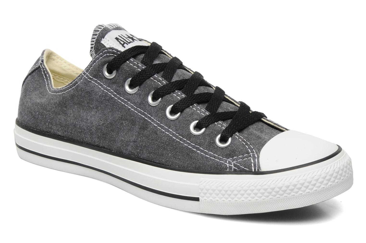 Sneakers Converse Chuck Taylor All Star Basic Washed Ox M Grijs detail