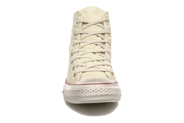 Sneaker Converse Chuck Taylor All Star Fashion Washed Hi W beige schuhe getragen