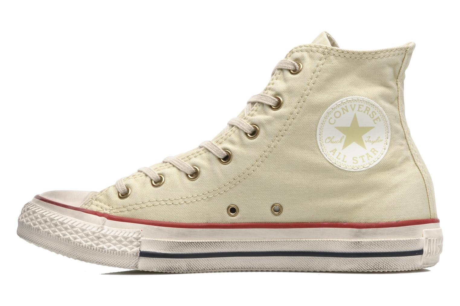Sneakers Converse Chuck Taylor All Star Fashion Washed Hi W Beige voorkant