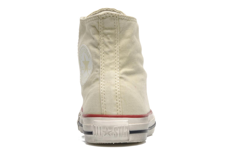 Sneaker Converse Chuck Taylor All Star Fashion Washed Hi W beige ansicht von rechts