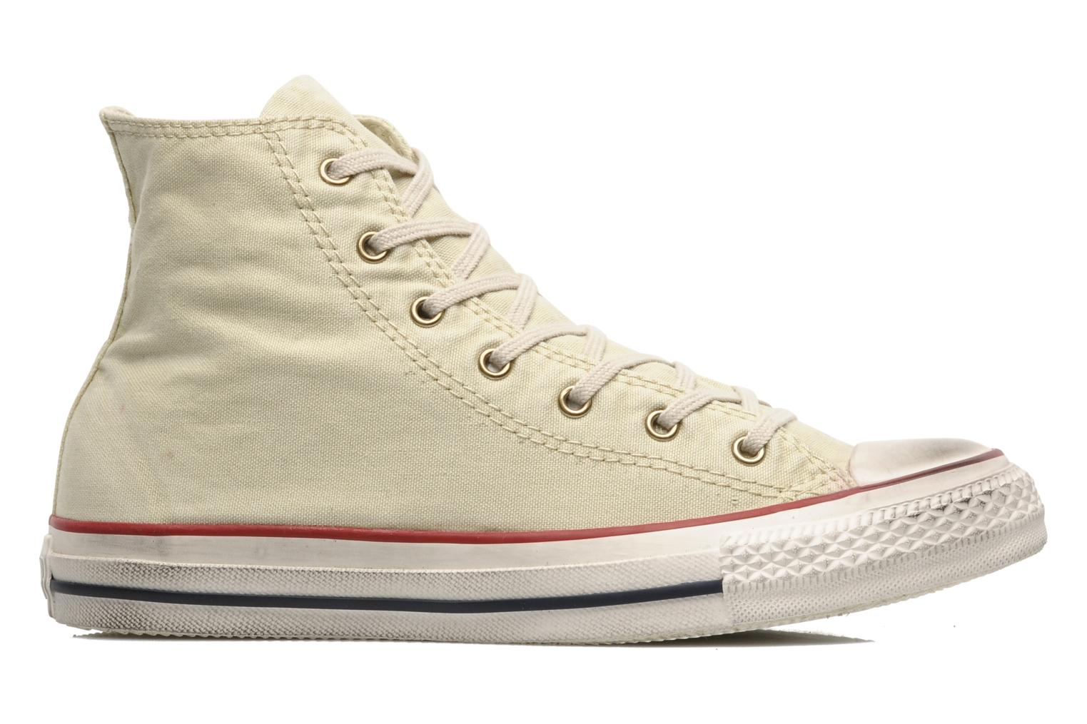 Sneakers Converse Chuck Taylor All Star Fashion Washed Hi W Beige achterkant