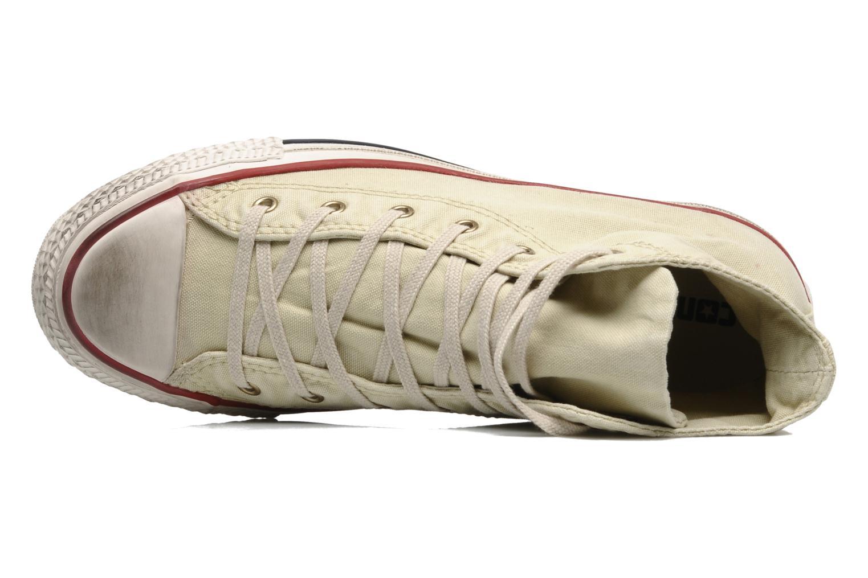 Sneaker Converse Chuck Taylor All Star Fashion Washed Hi W beige ansicht von links