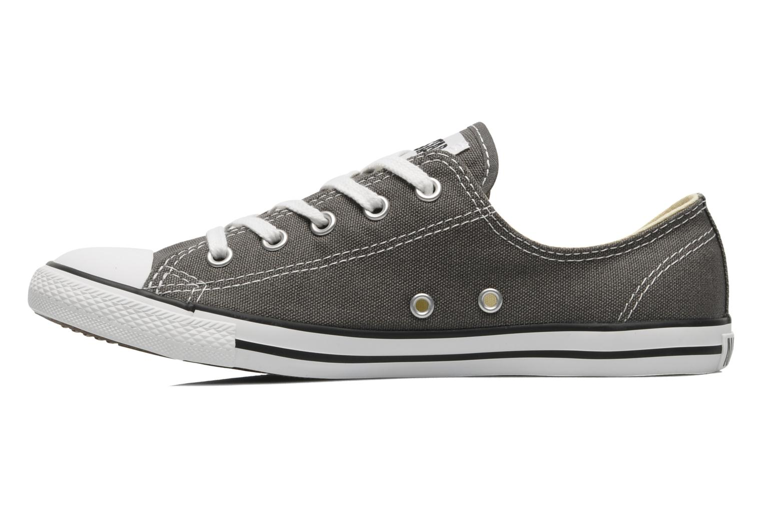 Baskets Converse All Star Dainty Canvas Ox W Gris vue face