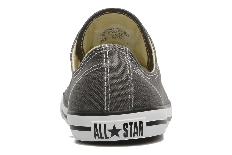 Baskets Converse All Star Dainty Canvas Ox W Gris vue droite