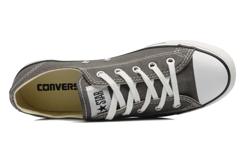 Sneaker Converse All Star Dainty Canvas Ox W grau ansicht von links
