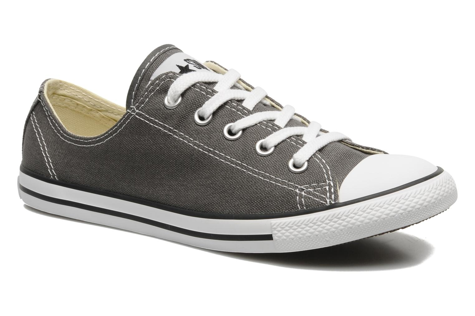 Donna Converse All Star Dainty Canvas Ox W Sneakers Grigio