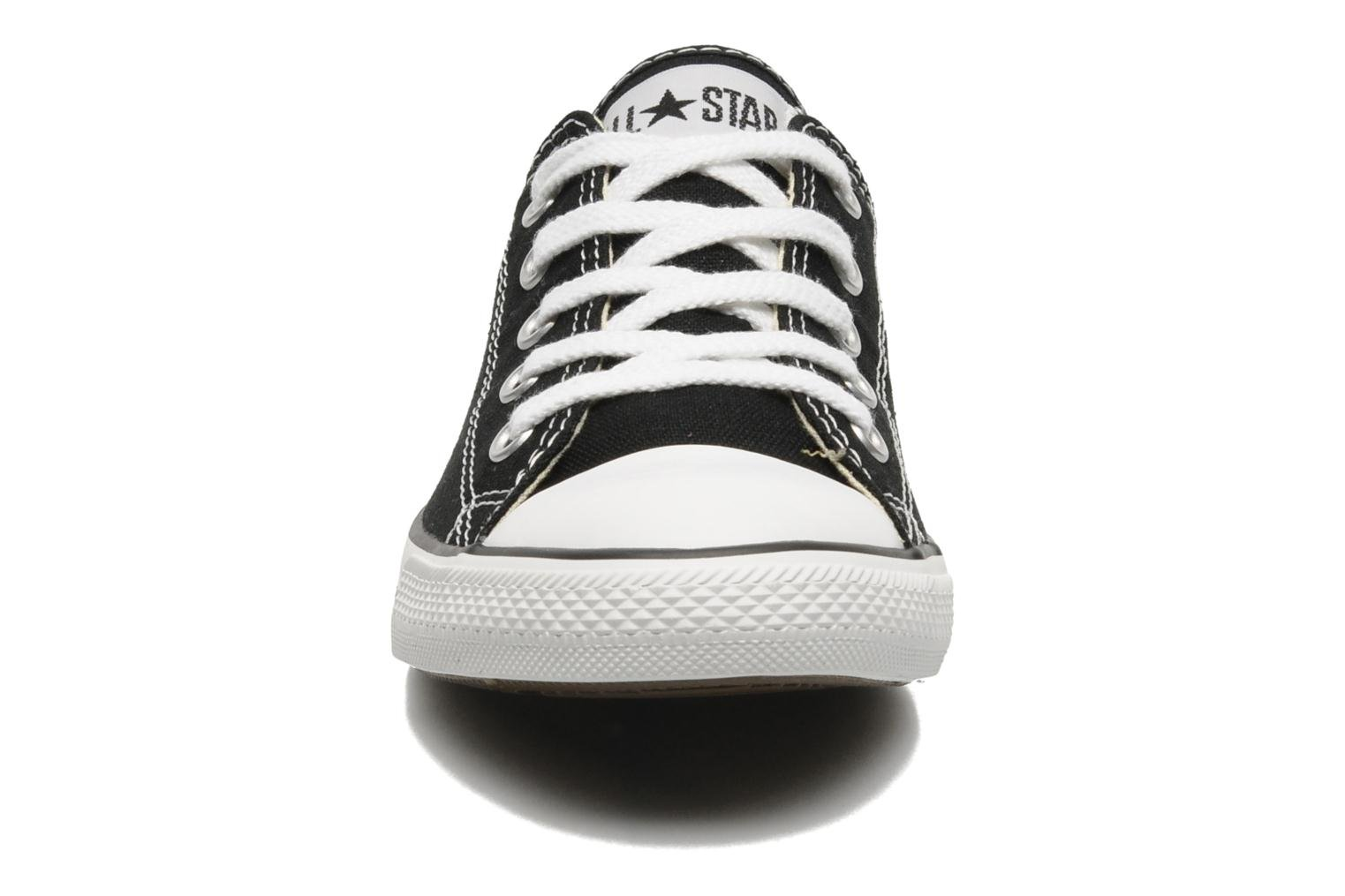 Trainers Converse All Star Dainty Canvas Ox W Black model view