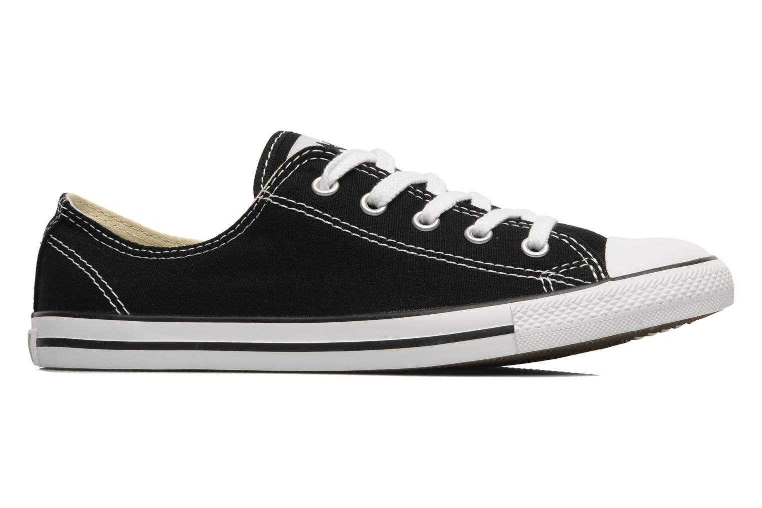 Trainers Converse All Star Dainty Canvas Ox W Black back view