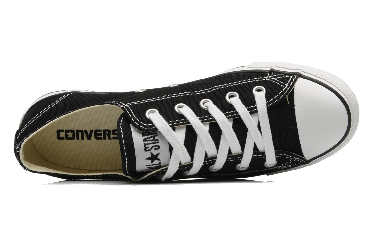 Trainers Converse All Star Dainty Canvas Ox W Black view from the left