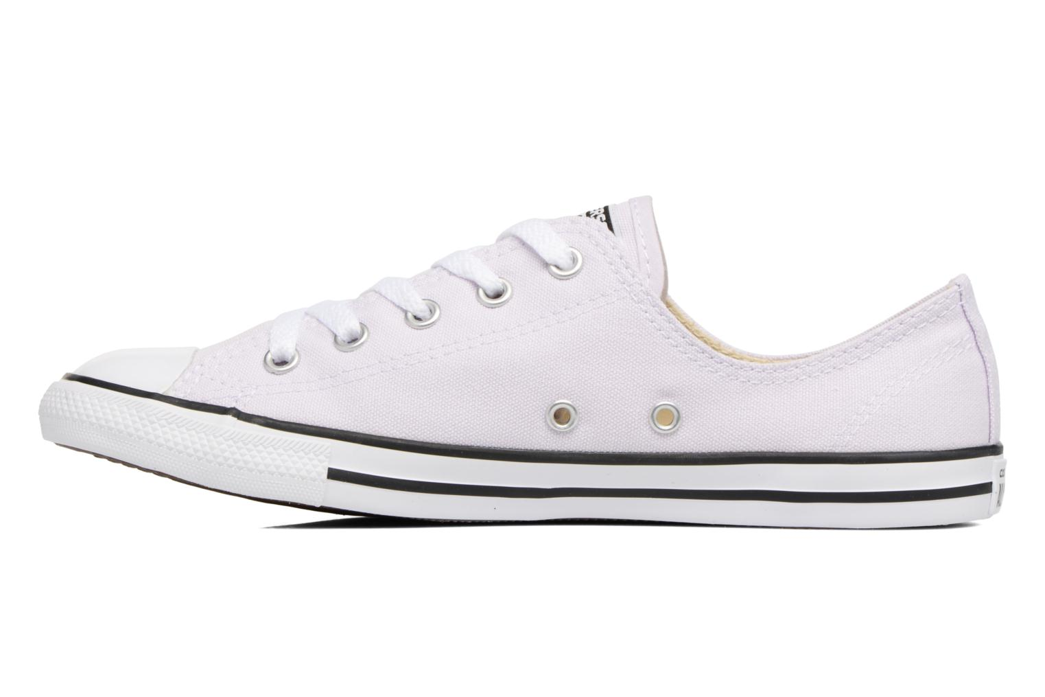 Deportivas Converse All Star Dainty Canvas Ox W Violeta      vista de frente