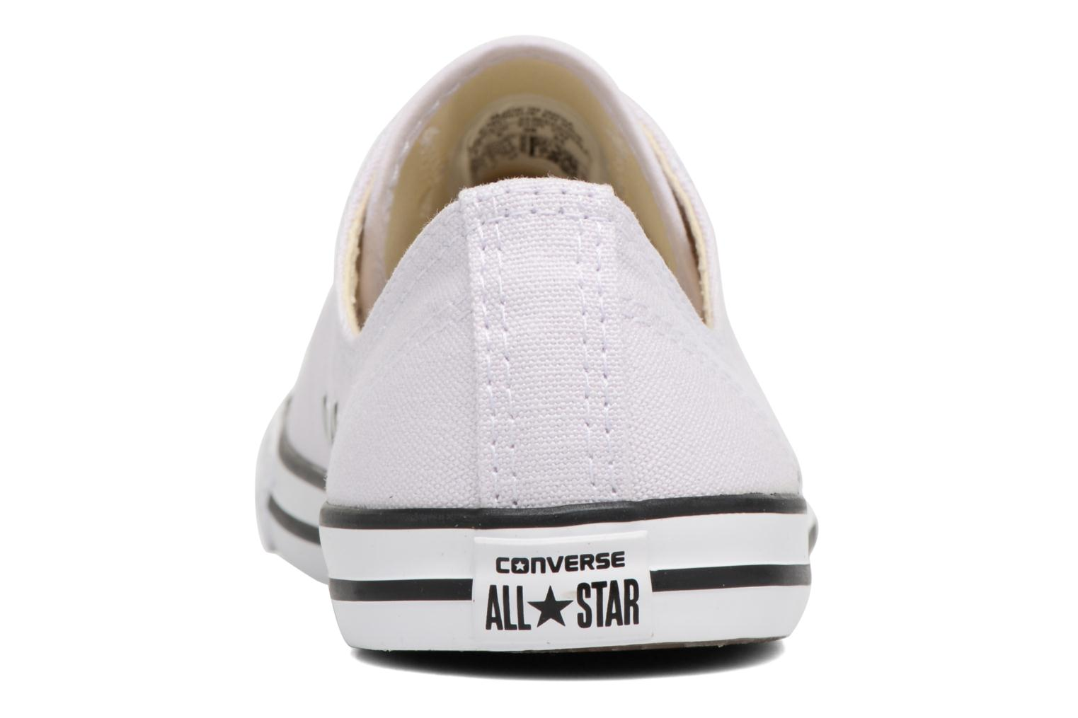 Baskets Converse All Star Dainty Canvas Ox W Violet vue droite