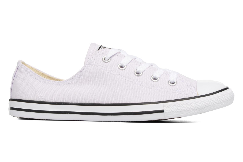 Sneaker Converse All Star Dainty Canvas Ox W lila ansicht von hinten