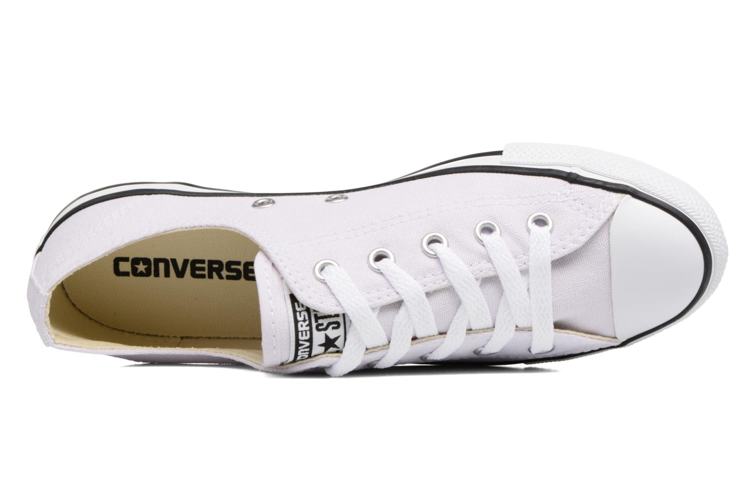 Deportivas Converse All Star Dainty Canvas Ox W Violeta      vista lateral izquierda