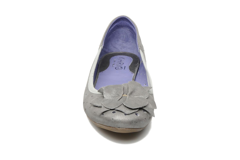 Ballerinas Khrio Sofi silber schuhe getragen