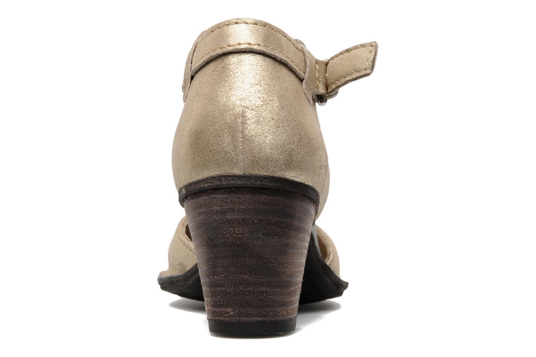 Pumps Khrio Naki gold/bronze ansicht von rechts