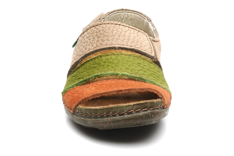 Sandales et nu-pieds El Naturalista Torcal n°302 Multicolore vue portées chaussures
