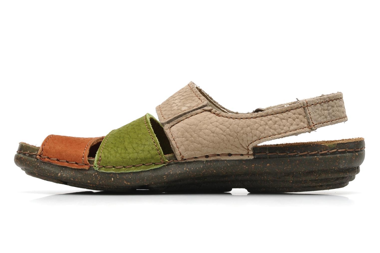 Sandales et nu-pieds El Naturalista Torcal n°302 Multicolore vue face