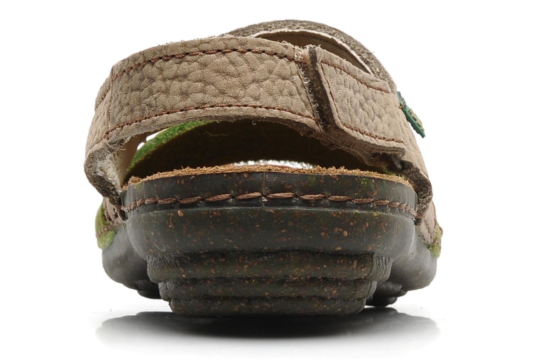 Sandales et nu-pieds El Naturalista Torcal n°302 Multicolore vue droite