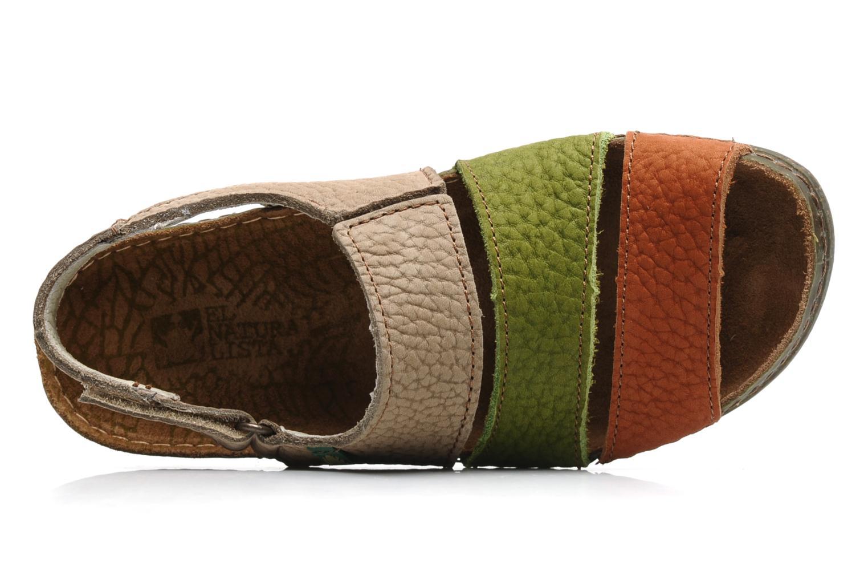 Sandales et nu-pieds El Naturalista Torcal n°302 Multicolore vue gauche