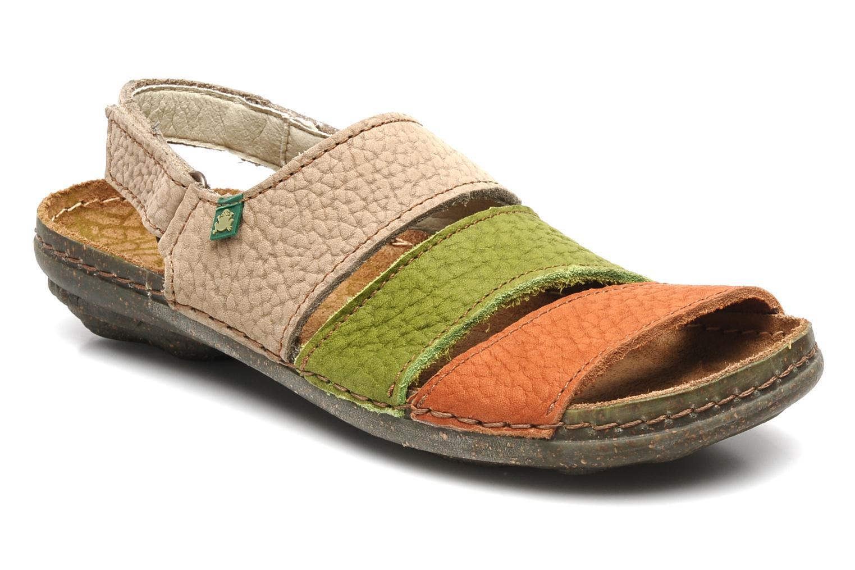 Sandales et nu-pieds El Naturalista Torcal n°302 Multicolore vue détail/paire