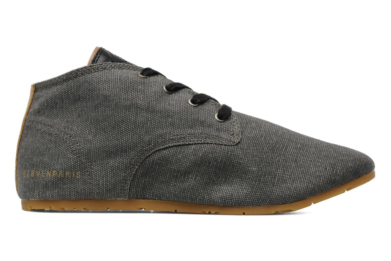 Sneakers Eleven paris Basic Colors F Grijs achterkant