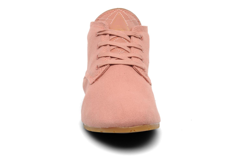 Baskets Eleven paris Basic Colors F Rose vue portées chaussures