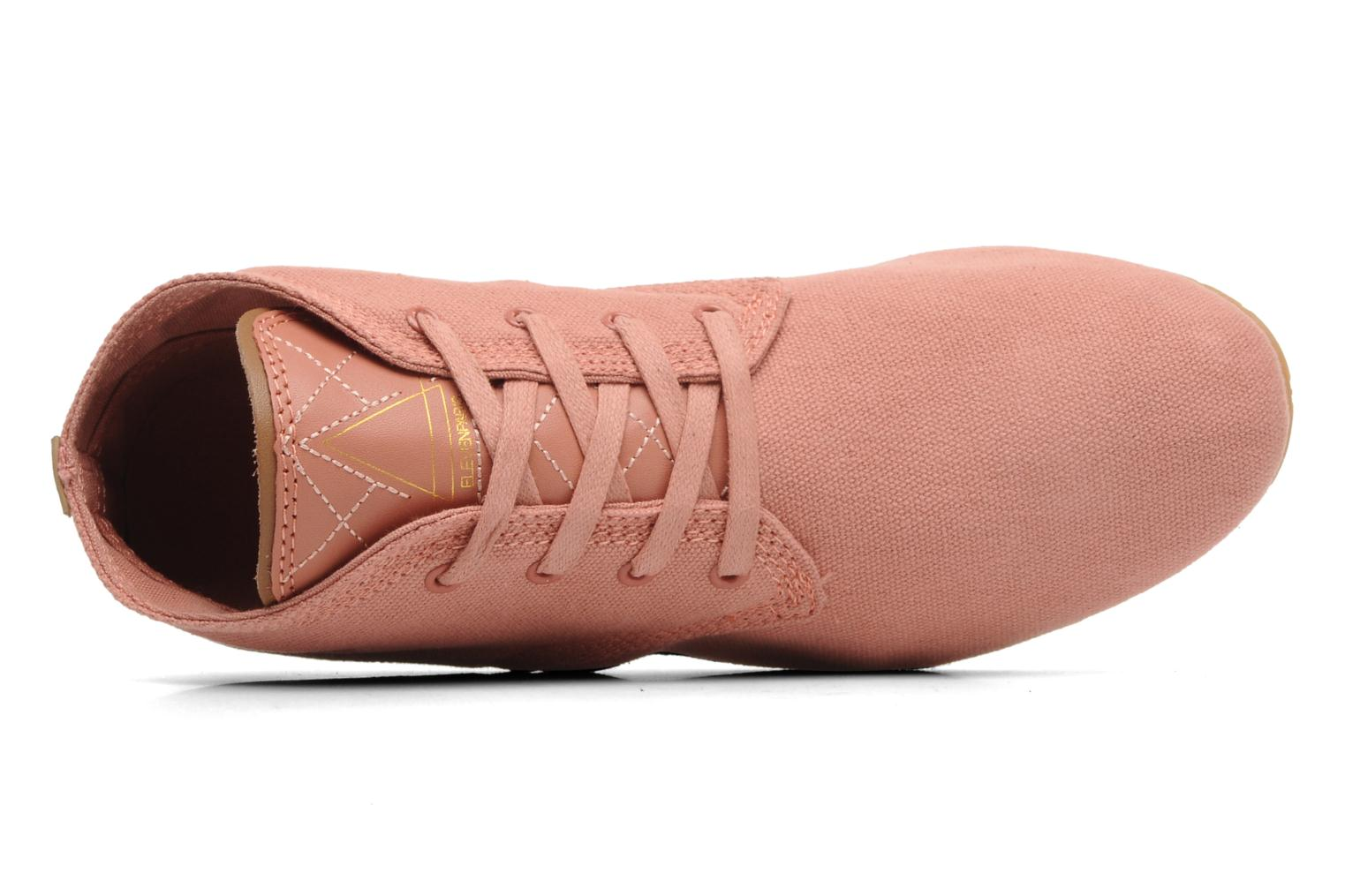 Sneaker Eleven paris Basic Colors F rosa ansicht von links