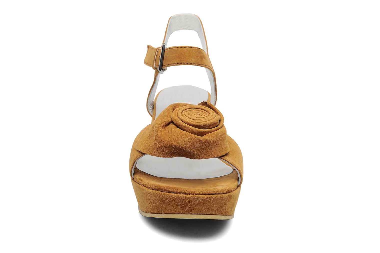 Sandali e scarpe aperte M PAR M DESIR Marrone modello indossato