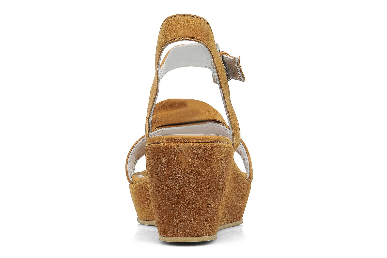 Sandali e scarpe aperte M PAR M DESIR Marrone immagine destra