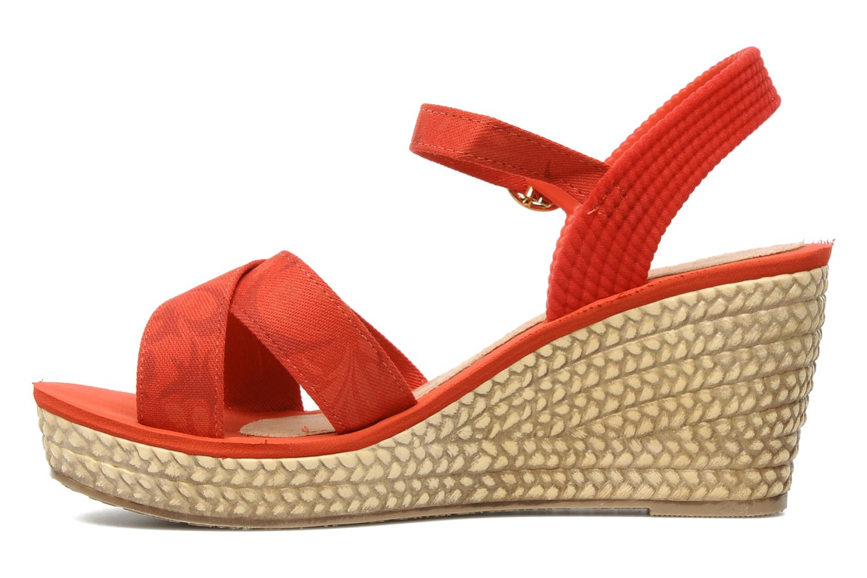Sandales et nu-pieds Grendha Marine Plat Sandal Fem Rouge vue face