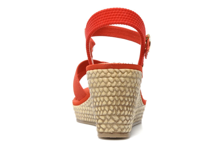 Sandales et nu-pieds Grendha Marine Plat Sandal Fem Rouge vue droite