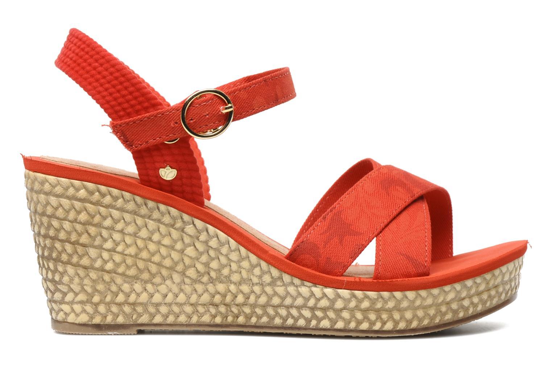 Sandales et nu-pieds Grendha Marine Plat Sandal Fem Rouge vue derrière