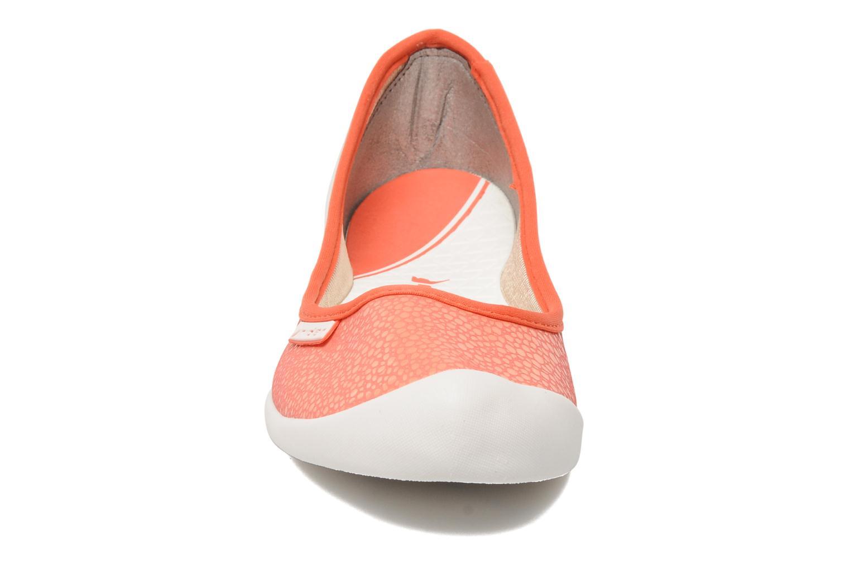 Chaussures de sport Rider Rider Zen Fem Orange vue portées chaussures