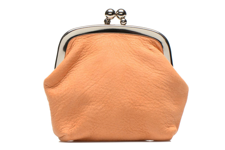 Petite Maroquinerie Nat & Nin Bibi Orange vue portées chaussures