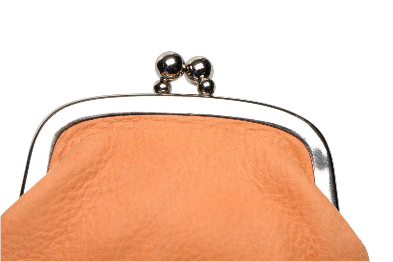 Petite Maroquinerie Nat & Nin Bibi Orange vue gauche